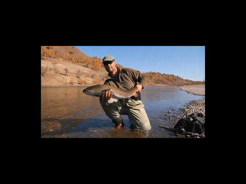 MONGOLIA_FISHING ON THE RIVER UR