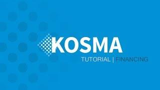 KOSMA Software: Tutorial - Financing module