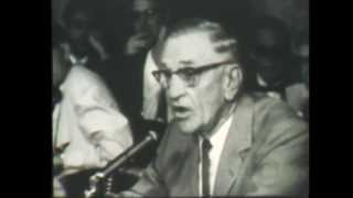 Casey Stengel's Congressional Testimony video/audio in 1958