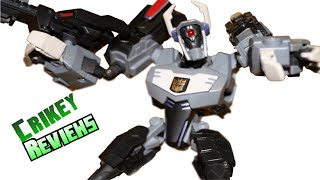 Transformers Animated - Shockwave (Gray) Figure Review
