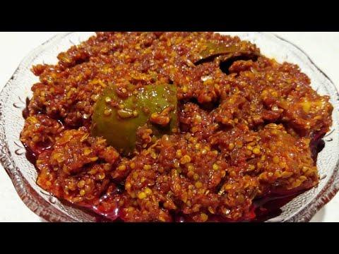 mango pickle recipe step by step||કેરી નું ખાટ્ટ અથાણું બનાવવાની રીત