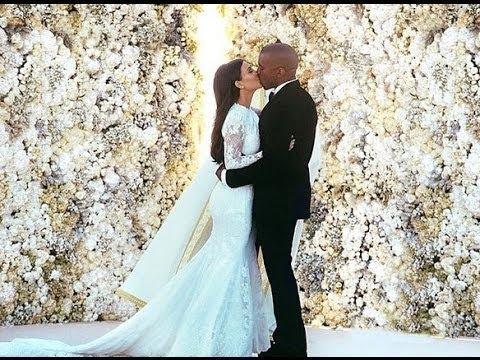 Kim Kardashian and Kanye West - Tied The Knot in a Lavish Ceremony
