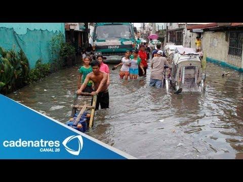 Tormenta tropical en Taiwan causa la muerte de una persona y desbordamientos