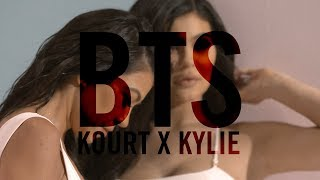 Behind the Scenes at the KOURT X KYLIE Collab Photo Shoot