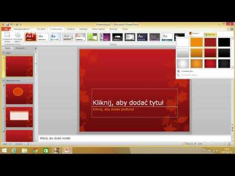 Jak Zrobić Prezentacje - Poradnik. Microsoft Office PowerPoint 2010