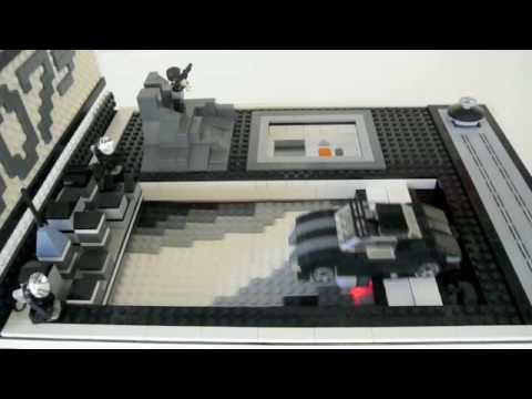 LEGO Mindstorms NXT, Race for a Quantum of Solace (James Bond 007)