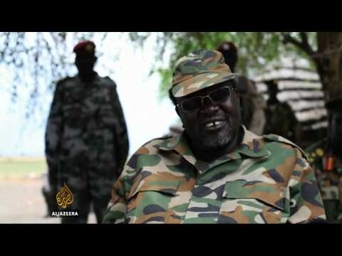 S Sudan rebel leader threatens violence