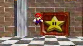 Super Mario 64 - Basement Backwards Long Jump