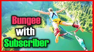 BUNGEE OFFER FOR ONE LUCKY SUBSCRIBER | MEETING WITH THE LAST RESORT | MOTOVLOG