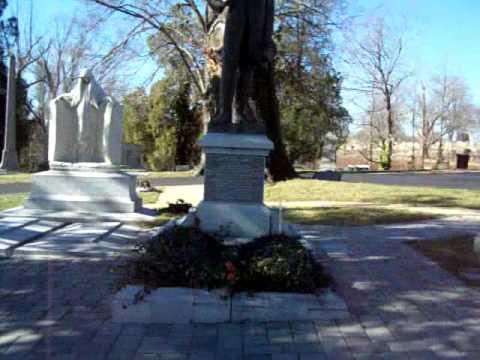 President Jefferson F Davis Hollywood Cemetery Richmond, VA PT 1 2008