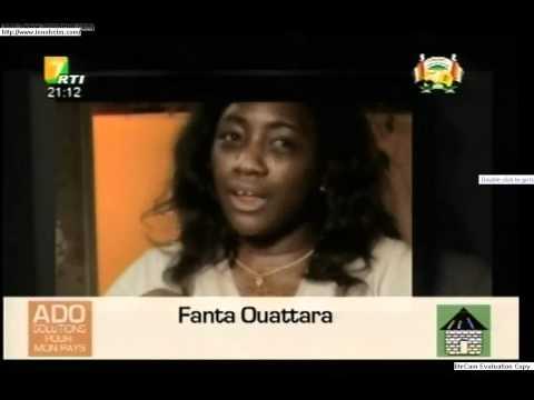 Election presidentielle Cote d'Ivoire 2010, Alassane OUATTARA, 5 minutes sur la RTI