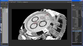 Maya 2011 Modeling Tutorial: ROLEX DAYTONA