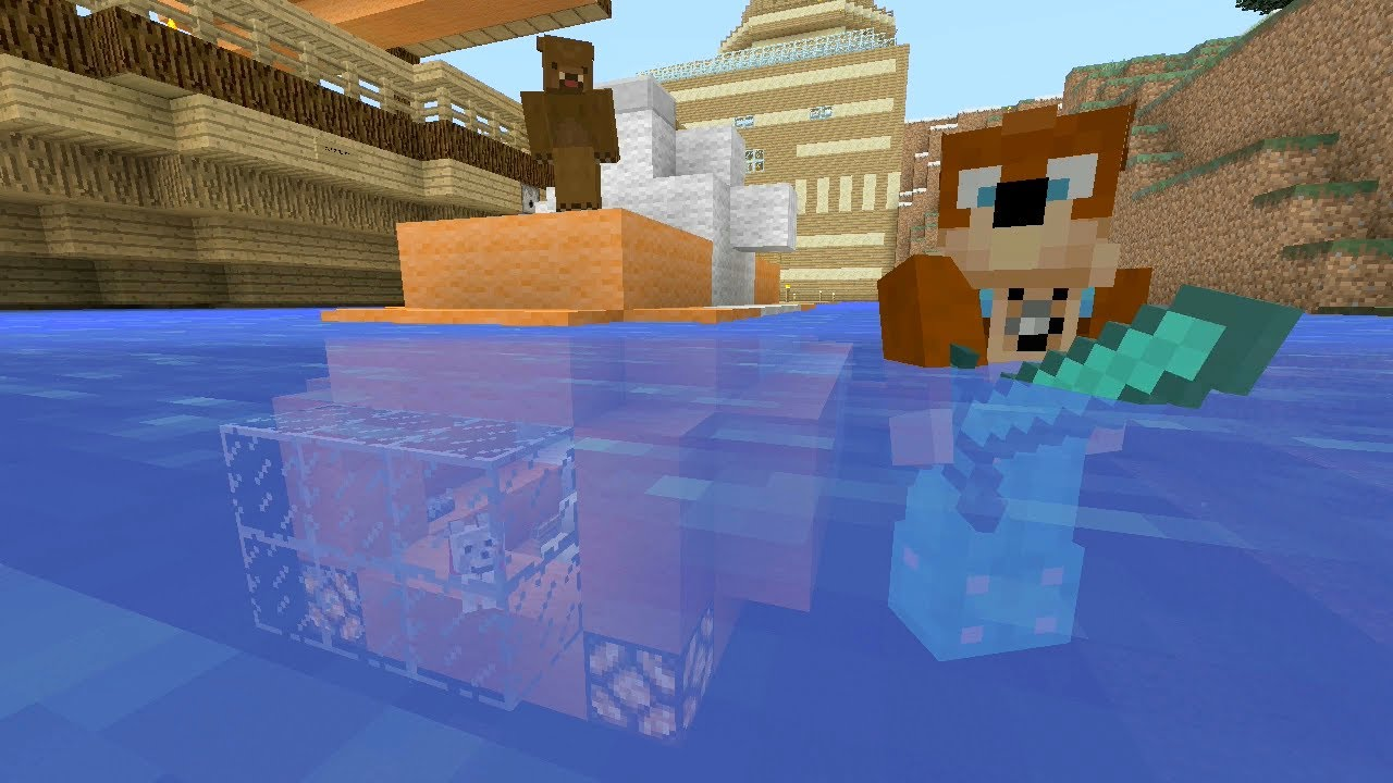 Minecraft Xbox Submarine 164 YouTube
