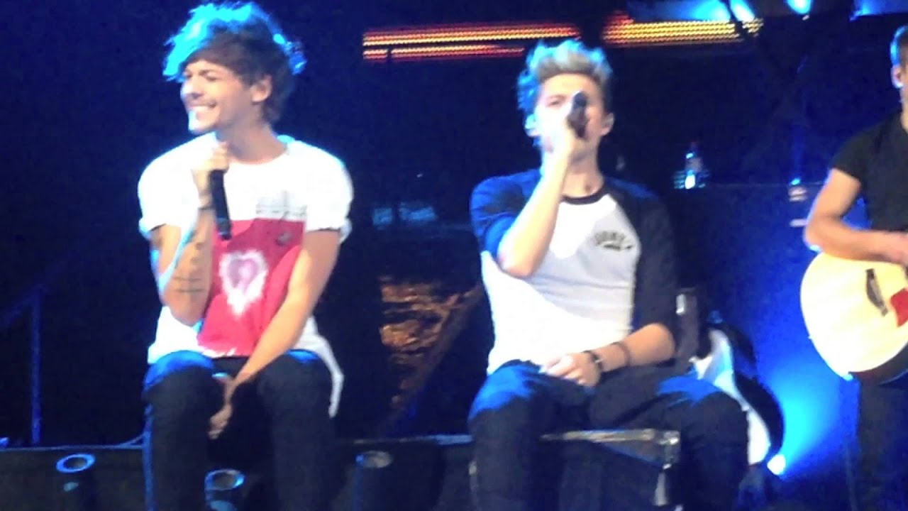 Niall Horan and Louis