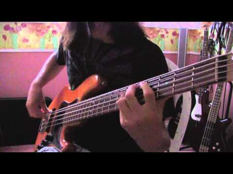Mastodon-Black Tongue Bass Cover