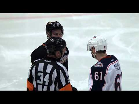 Francois Beauchemin taps Jeff Carter HD