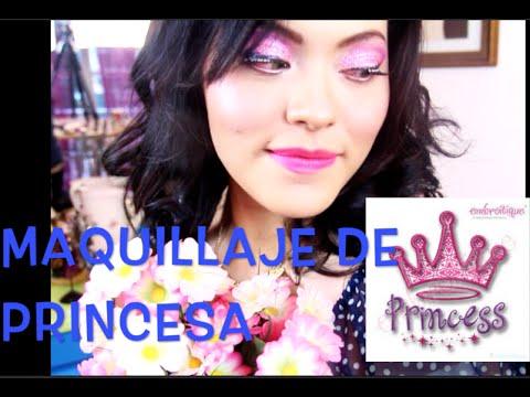 MAQUÍLLATE como una PRINCESA / How To Look like a Princess
