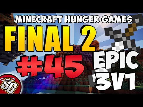 Minecraft Final 2 #45 DuckDPvP V.S. WaffleWarrior360 Epic 3v1