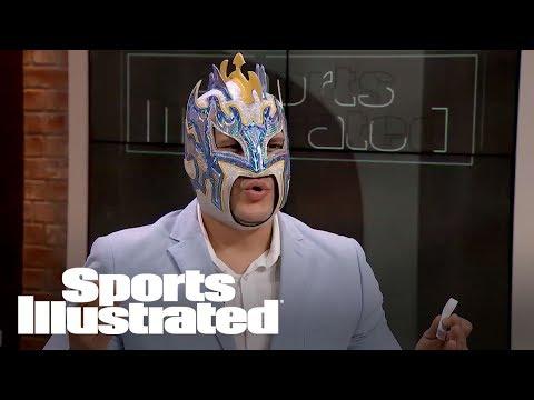 WWE Kalisto: Taking Brock Lesnar Over Jon Jones & More Fan Questions | SI NOW | Sports Illustrated