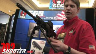 GG&G Accu-Force Quick Detach Bipod at 2011 SHOT Show