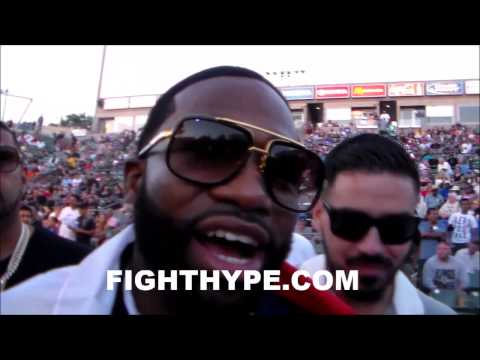 ADRIEN BRONER SURROUNDED BY MEXICAN FANS SHOWING SUPPORT IM LOVING MEXICO RIGHT NOW