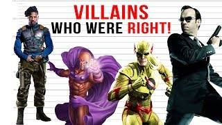 Characters We thought were Villains