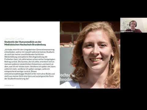 Umgekehrter Generationenvertrag der CHANCEN eG für Studierende der Psychologie