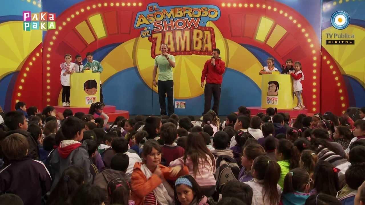 Zamba el asombroso show de zamba ezequiel y dar o for El asombroso espectaculo zamba