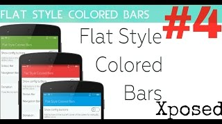 Como instalar Flat Style Colored Bars parte 4