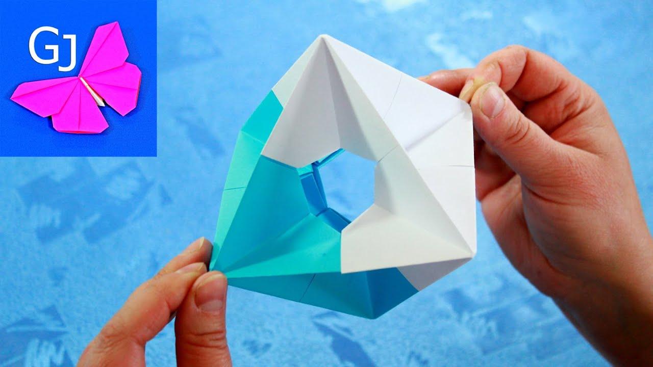 Как сделать двигающуюся оригами