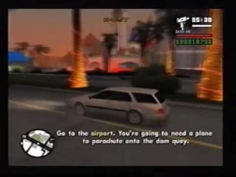 GTA San Andreas 82 mission: Key to her heart[part 2 of 2] and Dam And Blast [par