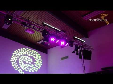 DJ Marco Maribello: Equipment Setup für Karneval in einer Halle
