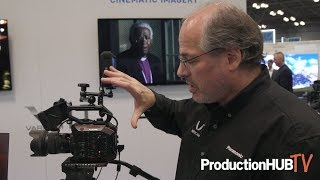 Panasonic Showcases 5.7K Super 35mm AU-EVA1 Cinema Camera at NAB NY 2017