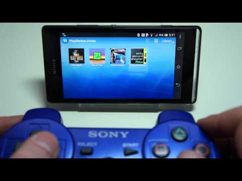Sony Playstation DUALSHOCK 3 Software for Xperia Smart Phones
