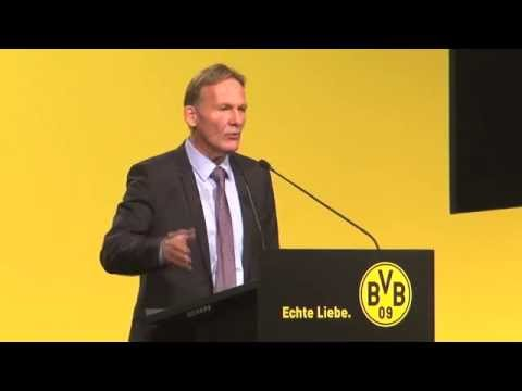 Hans-Joachim Watzke wütend auf