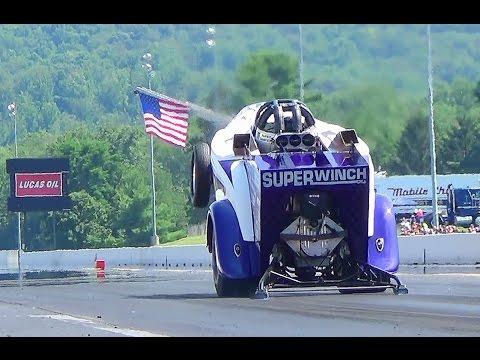 #2 Super winch wheelie truck keystone deisel truck nats 7-26-14