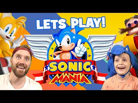 Let's Play SONIC MANIA!! SONIC AND TALES Mania Mode by KIDCITY
