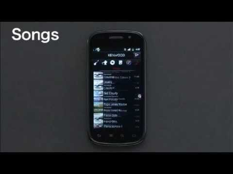 2012 Kenwood Music Control For Android App.wmv