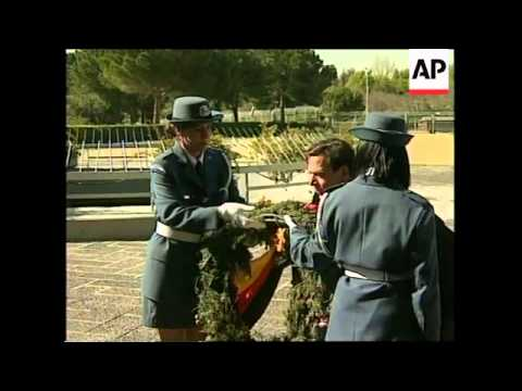 ISRAEL: GERMAN OPPOSITION LEADER GERHARD SCHROEDER VISIT