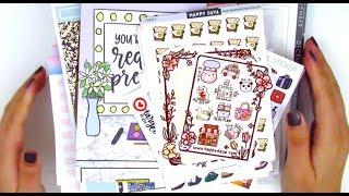 Sticker Haul ft. Love Shaira, Happy Daya Stickers, Hey Soul Sticker, & More!