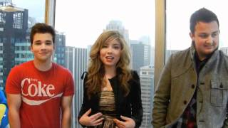 M Exclusive Video: iCarly stars talk about the new episode!