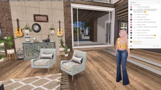Live Stream! New House Sneak Peek! (Second Life)