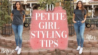 HOW TO LOOK TALLER // 10 PETITE GIRL STYLING TIPS   Jessica Neistadt ♡