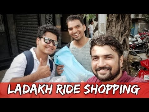 YES I'M GOING TO LEH LADAKH | LADAKH RIDE SHOPPING