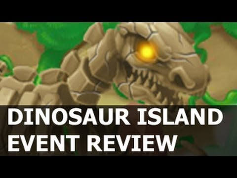 DINOSAUR ISLAND Dragon City Review T-Rex Dragon and Brontosaurus Dragon Prize