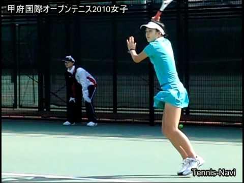 テニス 石津幸恵 甲府国際オープンテニス2010女子-初日