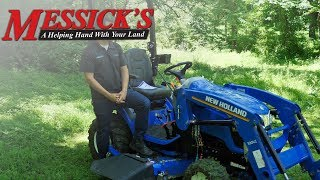 New Holland Workmaster 25s SubCompact Tractor Walk Around and Review