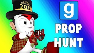 Gmod Prop Hunt Funny Moments - Secret Vending Machine Spot! (Garry's Mod)