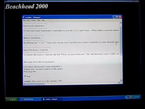 BeachHead 2000 install FXsoundsFX