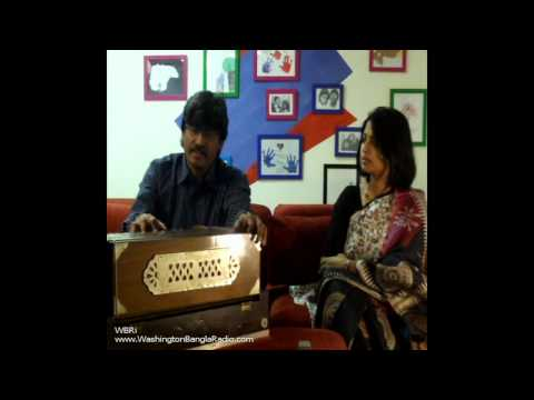 Washington Bangla Radio | ABHIJIT BOSE - Folk Songs Singer, Composer & Bengali Movie Music Director